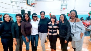 Volunteering at the Boys & Girls Charity in Queens 12-03-16